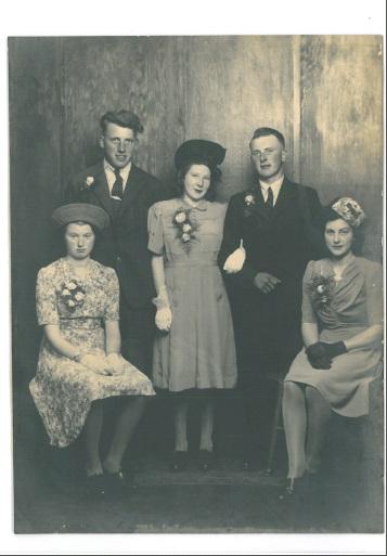 Bill and Doris Tiffin Wedding