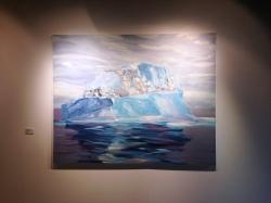 Alison Critchlow-Drifting Iceberg'