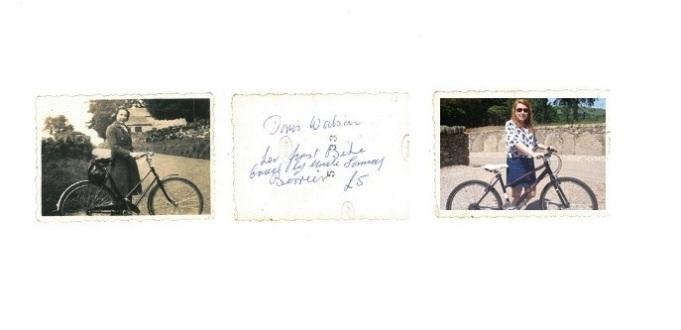 Doris's Bike and My Bike
