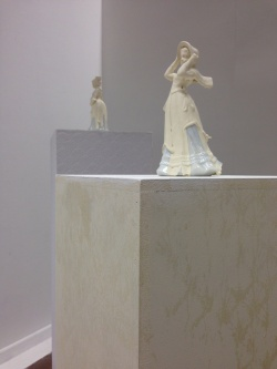 Untitled (Three Ornamental Figures, 3 Ornamental Plinths), 2014