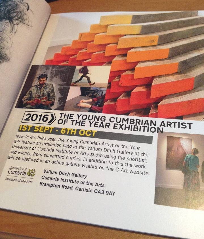 Young Cumbrian Artist of the Year